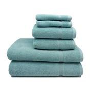 Home Fashion Design Valerio 6 Piece Towel Set; Icy Morn