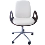 Porthos Home Caroline Adjustable Office Chair; White
