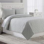 American Home Fashion Estate Gemma Quilt Set; King