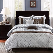 Madison Park Crosby 7 Piece Comforter Set; King