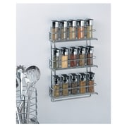 OIA Stainless Steel Wall Mount Spice Rack