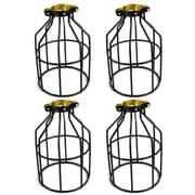 Newhouse Lighting Metal Lamp Guard 1 Light Kitchen Island Pendant (Set of 4)