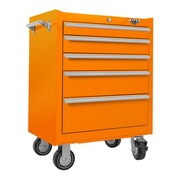 Viper Tool Storage 26''W 5-Drawer Tool Chest; Orange