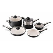 GreenPan Focus 10-Piece Non-Stick Cookware Set; Black