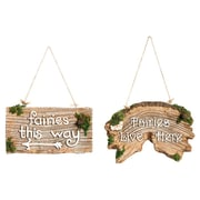 Evergreen Flag & Garden 2-Piece Fairy Wall Decor Set