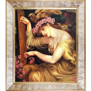 Tori Home A Sea Spell by Gabriel Rossetti Graphic Art on Canvas