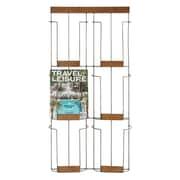 Creative Co-Op Inspired Home Metal and Wood Magazine Rack