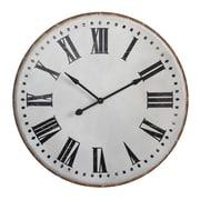 Creative Co-Op Chateau 40'' Metal Wall Clock