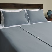 Brite Ideas Living Derry 3 Piece Duvet Set; King