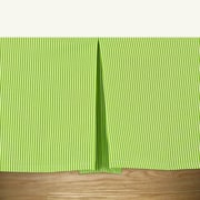 Brite Ideas Living Desoto Chartreuse Pleated Bed Skirt; King