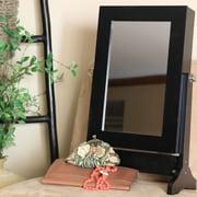 Wholesale Interiors Baxton Studio Tabletop Mirror; Black
