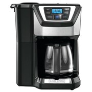 Black & Decker 12 Cup Mill and Brew Coffee Maker; Black