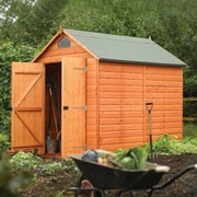 Rowlinson 6 Ft. W x 8 Ft. D Secure Storage Shed