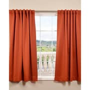Half Price Drapes Plush Thermal Blackout Curtain Panels (Set of 2); Blaze