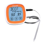 Escali Touch Screen Thermometer and Timer, Orange  (DHR1-O)