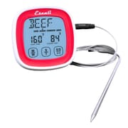 Escali Touch Screen Thermometer and Timer, Red  (DHR1-R)