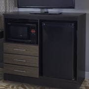 Lang Furniture Deco Combination Mini Refrigerator and Microwave Chest