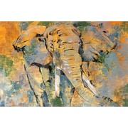 Portfolio Canvas Studio Safari II by Madelaine Morris Painting Print on Wrapped Canvas