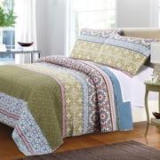 Greenland Home Fashions Shangri-La Quilt Set; Full/Queen Quilt Set
