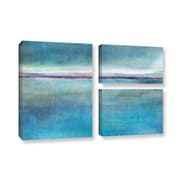 ArtWall 'Landscape Early' by Cora Niele 3 Piece Painting Print on Wrapped Canvas Set