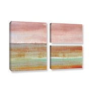 ArtWall 'Landscape Autumn' by Cora Niele 3 Piece Painting Print on Wrapped Canvas Set