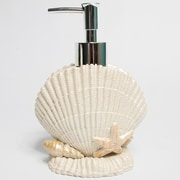 Sweet Home Collection Current Sea Shell Bath Lotion or Soap Pump