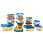 Sweet Home Collection 30-Piece BPA Free Storage Container Set