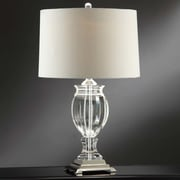 Crestview Transitions Star Field 27'' H Table Lamp with Empire Shade