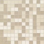 Daltile Keystones Blends 1'' x 1'' Ceramic Mosaic Tile in Beach