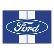 FANMATS Ford - Ford Oval with Stripes Tailgater Mat; 4' x 6'
