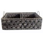 Baum 3 Piece Water Hyacinth Sweater and Shelf Basket Set (Set of 3)