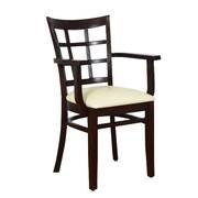 Benkel Seating Arm Chair; Walnut