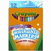 Crayola Washable Fine Point Markers (12/Set)
