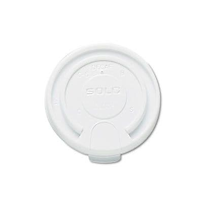 Solo Cups Company Liftback & Lock Tab Cup Lids For Foam Cups, 16 Oz, 1000/Carton WYF078277520709
