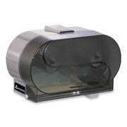 GEORGIA PACIFIC Side-by-Side Bathroom Tissue Dispenser,Translucent Smoke