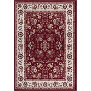 Well Woven Miami Bijar Classic Red Area Rug; Runner 1'8'' x 7'2''