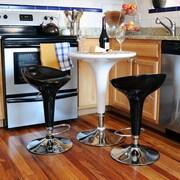 Buffalo Tools AmeriHome 3 Piece Pub Table Set; White/Black