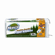 MARCAL Small Steps 100pct Premium Recycled Luncheon Napkins, 2400/Carton