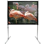 Elite Screens QuickStand Series White 150'' diagonal Portable Projection Screen; 100'' diagonal