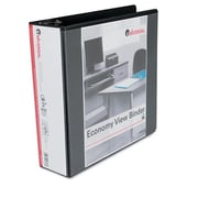 Universal Products Economy D-Ring Vinyl View Binder