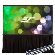 Elite Screens White Portable Projection Screen