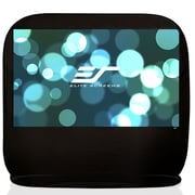Elite Screens Pop-up Cinema White 84'' diagonal Portable Projection Screen; 92''