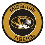 FANMATS NCAA University of Missouri Roundel Mat