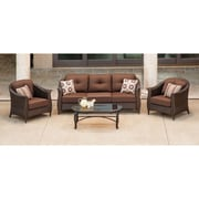 Cambridge Coral Bay 4 Piece Deep Seating Group with Cushion