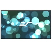 Elite Screens Aeon CLR Series White Fixed Frame Projection Screen; 100'',16:9