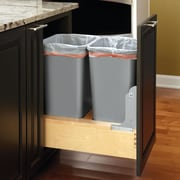 Rev-A-Shelf 12.5 Gallon Pull-Out Bottom Mount Waste Container