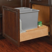 Rev-A-Shelf 30 Qt. Pull-Out Bottom Mount Waste Container