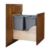 Rev-A-Shelf 8.75 Gallon Pull-Out Bottom Mount Waste Container