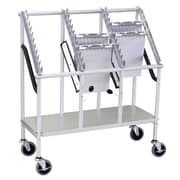 Omnimed Wheeled 3 Tier Chart Carrier - 30 Capacity (263830)