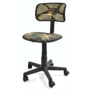 Urban Shop Mid-Back Mesh Task Chair; Camo